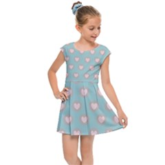 Stir Crazy For You - Blue  Kids  Cap Sleeve Dress