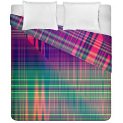 Glitch Duvet Cover Double Side (california King Size)