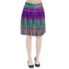 Glitch Pleated Skirt
