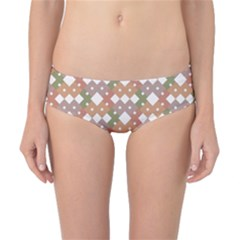 Squares And Diamonds Classic Bikini Bottoms by tmsartbazaar