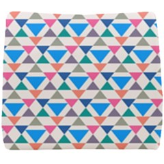 Multicolor Triangle Seat Cushion
