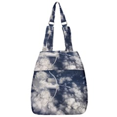 Illustrations Cupid Cloud Sky Angel Love Center Zip Backpack