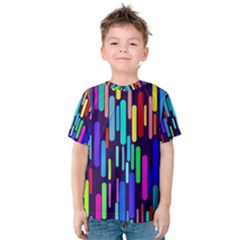 Abstract Line Kids  Cotton Tee