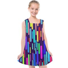 Abstract Line Kids  Cross Back Dress by HermanTelo