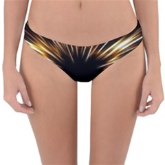 Color Gold Yellow Reversible Hipster Bikini Bottoms