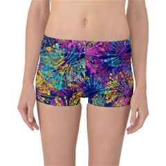 Illustration Graphics Art Reversible Boyleg Bikini Bottoms