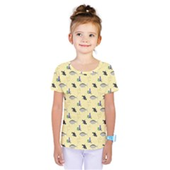 Bluefishes Kids  One Piece Tee