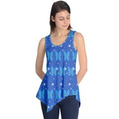 Glitter Butterfly Sleeveless Tunic by Sparkle