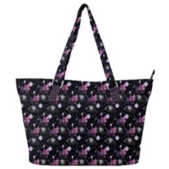 Galaxy Cats Full Print Shoulder Bag by Sparkle