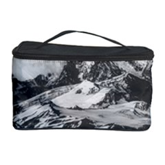 Black And White Andes Mountains Aerial View, Chile Cosmetic Storage
