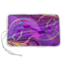 Infinity Painting Purple Pen Storage Case (s)