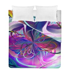 Rainbow Painting Pattern 2 Duvet Cover Double Side (full/ Double Size)