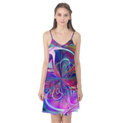 Rainbow Painting Pattern 2 Camis Nightgown by Cveti