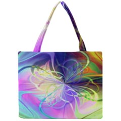 Rainbow Painting Patterns 3 Mini Tote Bag by Cveti