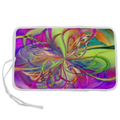 Rainbow Painting Pattern 4 Pen Storage Case (l) by Cveti