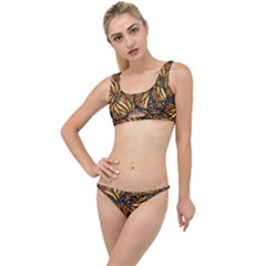 Monarch Butterfly Wings Pattern The Little Details Bikini Set