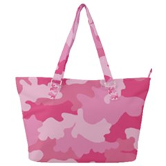 Camo Pink Full Print Shoulder Bag by MooMoosMumma