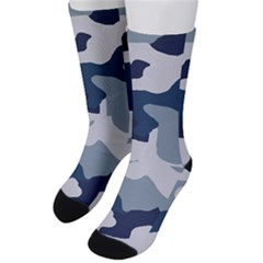 Camo Blue Men s Crew Socks by MooMoosMumma