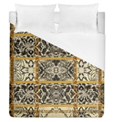 Antique Black And Gold Duvet Cover (queen Size) by SpinnyChairDesigns