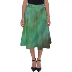 True Turquoise Perfect Length Midi Skirt
