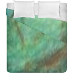 True Turquoise Duvet Cover Double Side (california King Size)