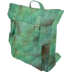 True Turquoise Buckle Up Backpack