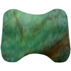True Turquoise Head Support Cushion