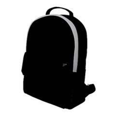 Rich Ebony Flap Pocket Backpack (large) by Janetaudreywilson