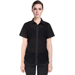 Rich Ebony Women s Short Sleeve Shirt