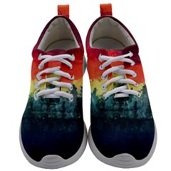 Rainbow Landscape Mens Athletic Shoes