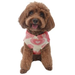 Pink Faded Hearts Dog Sweater by SpinnyChairDesigns