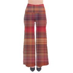 Madras Plaid Fall Colors So Vintage Palazzo Pants by SpinnyChairDesigns