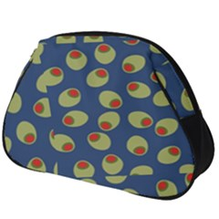 Green Olives With Pimentos Full Print Accessory Pouch (big)