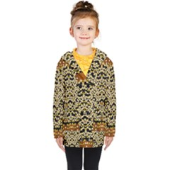 Free As A Flower And Frangipani In  Freedom Kids  Double Breasted Button Coat