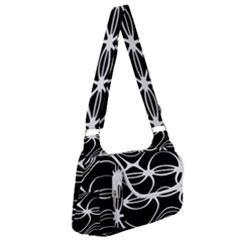 Black And White Clam Shell Pattern Multipack Bag by SpinnyChairDesigns