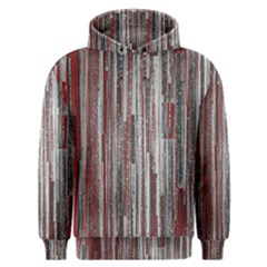 Abstract Grunge Stripes Red White Green Men s Overhead Hoodie