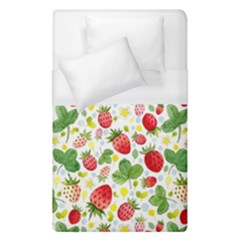 Huayi-vinyl-backdrops-for-photography-strawberry-wall-decoration-photo-backdrop-background-baby-show Duvet Cover (single Size) by Sobalvarro
