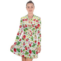 Huayi-vinyl-backdrops-for-photography-strawberry-wall-decoration-photo-backdrop-background-baby-show Long Sleeve Panel Dress