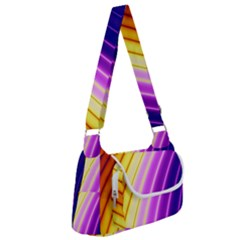 Sporty Stripes Swoosh Purple Gold Red Multipack Bag