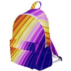 Sporty Stripes Swoosh Purple Gold Red The Plain Backpack