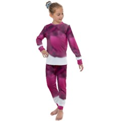 Fun Fuschia Kids  Long Sleeve Set