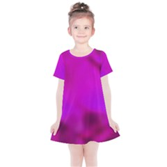 Fun Fuschia Kids  Simple Cotton Dress