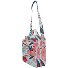 Floral  Crossbody Day Bag by Sobalvarro