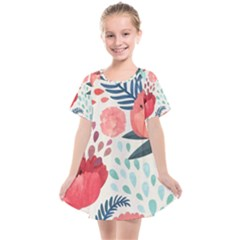 Floral  Kids  Smock Dress by Sobalvarro