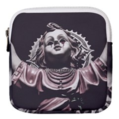 Angel Crying Blood Dark Style Poster Mini Square Pouch