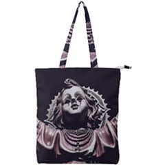 Angel Crying Blood Dark Style Poster Double Zip Up Tote Bag