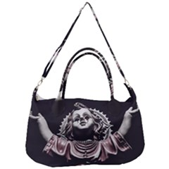 Angel Crying Blood Dark Style Poster Removal Strap Handbag