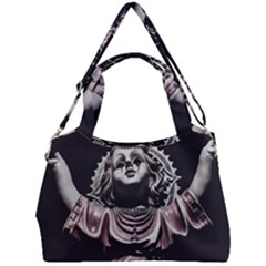Angel Crying Blood Dark Style Poster Double Compartment Shoulder Bag