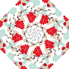 Floral Pattern  Folding Umbrellas by Sobalvarro