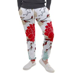 Floral Pattern  Men s Jogger Sweatpants by Sobalvarro